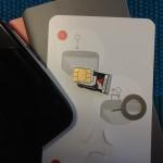 開封後、即SIMカードを抜かれるNEXUS6
